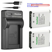 Kastar Battery Slim Charger for Nikon EN-EL19 Nikon Coolpix S2750 Coolpix S2800
