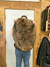 1 - Tanned Beaver pelt, Medium Grade prime, Minn River soft tanned, hide mnrdbea