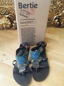 Bertie Leather Boho Sandals Size 37/4 excellent condition.