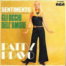 "7"" Patty Pravo – Gli Occhi dell 'amrore/SENTIMENTO // GERMANY 1969"