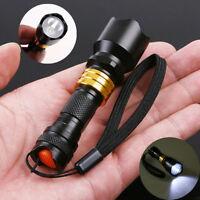 Mini CREE Q5 LED Flashlight Torch Waterproof Aluminum Lamp Light Camping Hiking