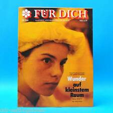DDR FÜR DICH 29/1981 Lenzen Erfurt Dänemark Neukirchen Werner Bernreuther Mode