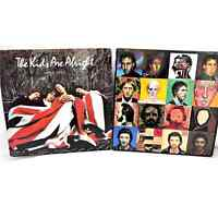 The Who Kids Are Alright & Face Dances Lot of 2 Vinyl LP Albums Poster