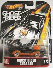 Hotwheels 1 64 Retro Entertainment 2018 Ghost Rider Dodge Charger Marvel Fld30