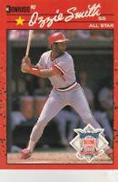 FREE SHIPPING-MINT-1990 Donruss St. Louis Cardinalsl #710 Ozzie Smith ALL-STAR