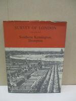 Survey of London Volume XLI (41) Southern Kensington Brompton 1983 Hardcover D23