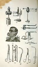 41 books ANTIQUE MEDICAL INSTRUMENTS old surgical QUACKERY artificial limbs eyes