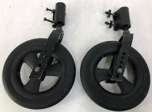 """8"""" Front Wheels KI Mobility Catalyst Manual Wheelchair Forks/Casters/Mount Pr1mo"""