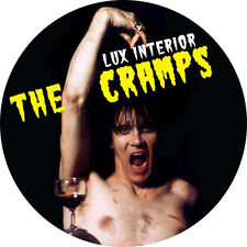 IMAN/MAGNET THE CRAMPS Lux Interior . pin button poison ivy bryan gregory trash