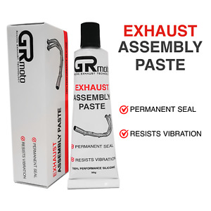 Exhaust Silicone Sealant High Temperature GREY Motorcycle Exhausts Muffler
