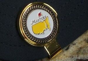 The Masters 2013 Black Trim Ball Marker Only