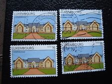 LUXEMBOURG - timbre yvert et tellier n° 1394 x4 obl (A30) stamp (Z)