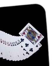 "JUMBO 23"" X 15"" BLACK MAGIC CLOSE UP PAD Mat Magician Utility Card Coin Table"