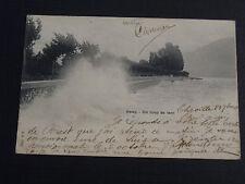 CPA 1901 Vevey Un coup de vent