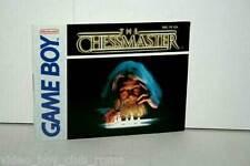 MANUALE THE CHESSMASTER NINTENDO GAMEBOY EDIZIONE AMERICANA GD1 36866