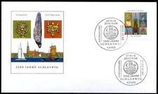 BRD 2004: Schleswig 1200 Jahre! FDC der Nummer 2377 mit Berliner Stempeln! 1812