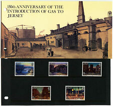 Jersey 1981, 150th Anniv Gas To Jersey MNH Presentation Pack #C40524