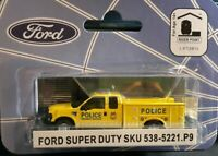HO 1/87 SCALE RPS River Point Station Ford F-350 XLT Police Service Truck