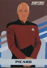 Star Trek TNG Portfolio Prints Series 2 TNG Universe Chase Card U12 Captain Jean