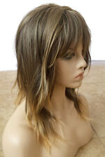 Forever Young Textured Layers Heat Safe Wig (Ombre Color 24BT18 Brown Blonde)