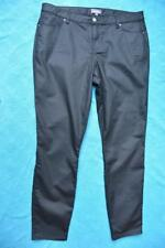 Sussan Slim Leg Tapered Ankle Black Jeans/pants Size 18 Stretch.