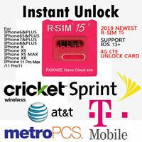 R-SIM15 Nano Unlock RSIM Card for iPhone 11 Pro Max /11 Pro 11 X XR MAX 8 iOS13-