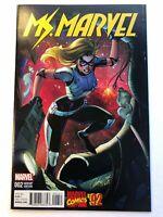 Ms. Marvel 2 Variant - J Scott Campbell Marvel Comics '92 2015 - Ships Free!