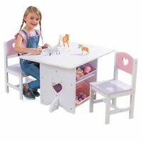 Kids Table and Chairs Set Beautiful Style Kid Study Room Chairs Children Fun