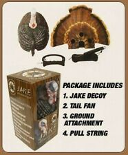 Turkey Hunting Jake Decoys Lot of 4 Decoys