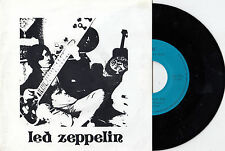 """LED ZEPPELIN MISTY MOUNTIAN HOP RARE SPECIAL LIM. ED. ERROR RECORD 7"""" PS"""