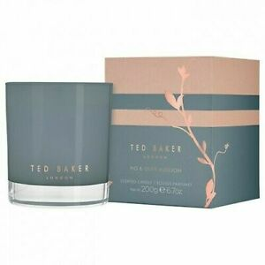 Ted Baker Fig and Olive Blossom Scented Candle 200g NEW IN BOX