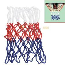 XD#3 Red White Blue Sports 5mm Nylon Thread Basketball Rim Mesh Net 12 Loops New