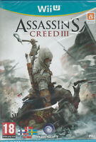 Assassin's Creed 3 (Nintendo Wii U) Brand new and sealed
