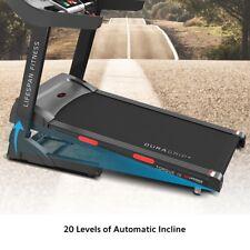 Lifespan TORQUE III Wide Belt Electric Treadmill - Black