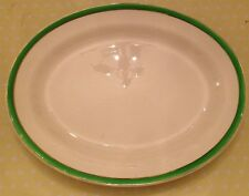 Vintage / Queens Green/ Solian Ware / Simpsons Ltd/ Platter / Serving Plate/Tray