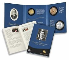 2016 Coin & Chronicles Set Ronald Reagan $1 Coin American Eagle Bronze Medal