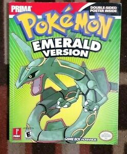 Pokemon Emeral Version Prima Official Strategy Game Guide