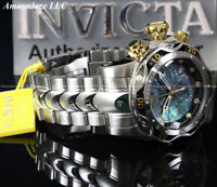 NEW Invicta Men's 52mm Venom Swiss Chronograph Stainless St. BLK MOP Dial Watch