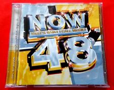 NOW 48  - THAT'S WHAT I CALL MUSIC  2 x CD -  *VERY GOOD / EXCELLENT*  PETER KAY