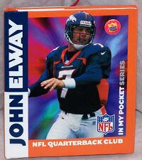Denver Broncos JOHN ELWAY Mini Book 1998 NFL Quarterback Club Booklet