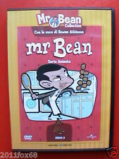 Mr Bean Collection Serie Animata Rowan Atkinson DVD N°2 usato 8 Episodi 90Minuti