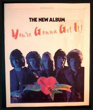 "1978 TOM PETTY ""YOU'RE GONNA GET IT"" ALBUM COLOR AD"