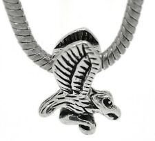 Flying Hawk Animal Raptor Bird Bead for Silver European Style Charm Bracelets