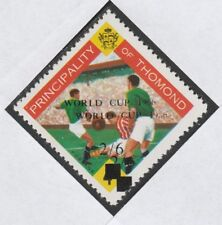 Ireland - Thomond 4014 -1966 FOOTBALL with WORLD CUP  OPT DOUBLED u/m