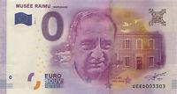 13 MARIGNANE RAIMU BILLET 0 € ZERO EURO 2016 NO JETON BANKNOTE MEDALS COINS
