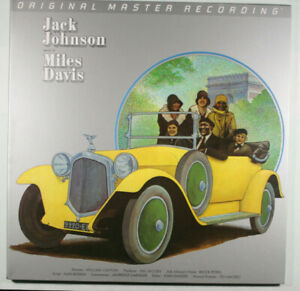 MILES DAVIS Jack Johnson NM MOBILE FIDELITY SOUND LAB VINYL LP/MFSL/audiophile