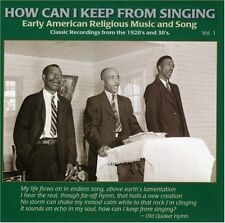 Various Artists, How - How Can I Keep from Singing 1 / Various [New CD]