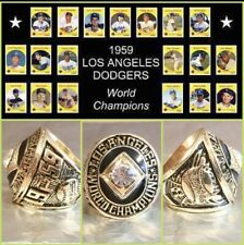 Los Angeles Dodgers 1959 Championship Ring Size 11