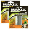 2x Duracell DRC511 Rechargeable Camera Battery 7.4v 1400mAh Camcorders Cameras