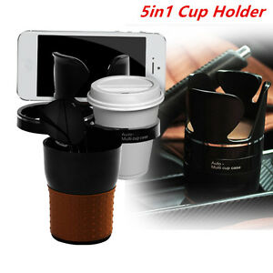 5in1 Car Multifunction Cup Phone Glass Pen Bottle Console Storage Hold Organizer